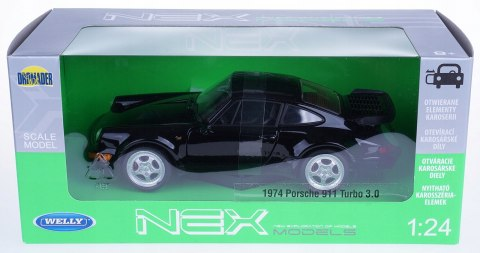 WELLY Model Porsche 911 Turbo 3.0 1974 skala 1:24