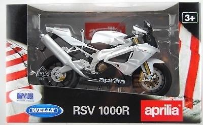 WELLY - Model Motocykla RSV 1000R Aprilla skala 1:10