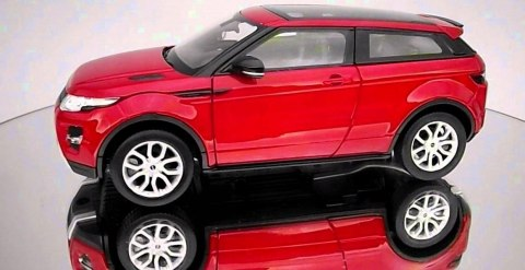 WELLY Model RANGE ROVER EVOQUE skala 1:24