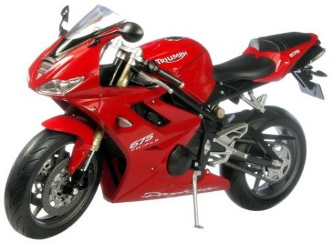 WELLY - Model TRIUMPH Daytona 675 skala 1:10