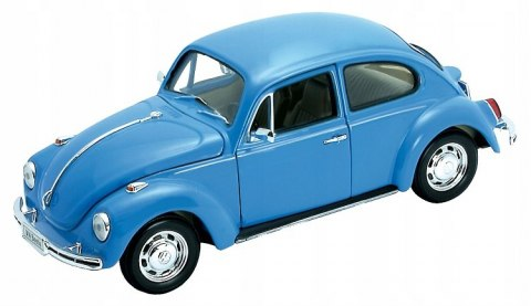 WELLY Model VOLKSWAGEN BEETLE Hard-Top skala 1:24