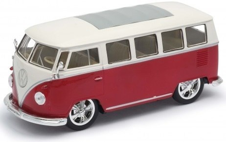 WELLY Model - 1963 VOLKSWAGEN T1 BUS skala 1:24