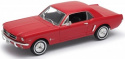 WELLY Model 1964-1/2 FORD MUSTANG COUPE Skala 1:24