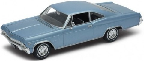 WELLY Model - 1965 CHEVROLET IMPALA SS 396 1:24