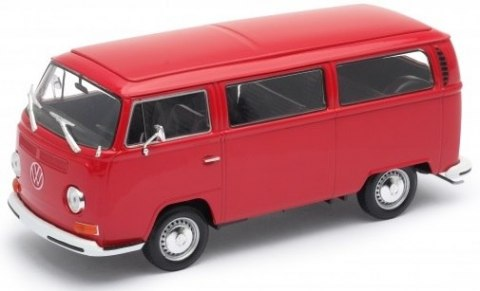 WELLY Model 1972 VOLKSWAGEN BUS T2 Skala 1:24