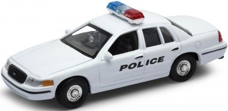 WELLY Model - 1999 FORD CROWN VICTORIA Police