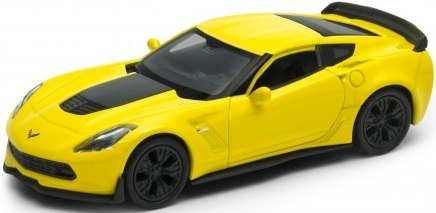WELLY Model - 2017 CHEVROLET CORVETTE Z06 1:34
