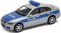WELLY Model - BMW 330I Polizei SKALA 1:34