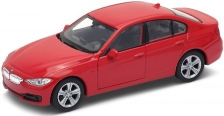 WELLY Model - BMW 335i Czerwony SKALA 1:34