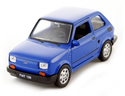 WELLY Model FIAT 126p MALUCH Niebieski skala 1:21