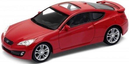 WELLY Model - HYUNDAI GENESIS COUPE 2009 1:34