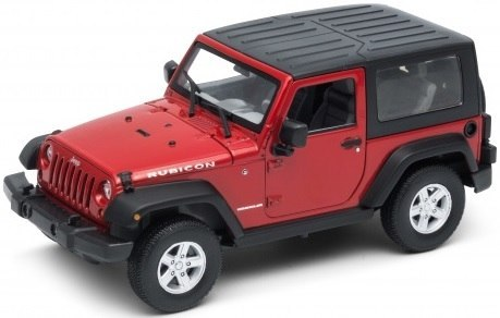 WELLY Model - JEEP WRANGLER RUBICON Skala 1:24