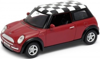 WELLY Model - MINI COOPER Szachownica 1:34