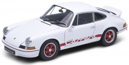 WELLY Model PORSCHE 911 CARRERA RS 2.7 Skala 1:24