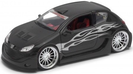 WELLY Model - Peugeot 206 Tuning SKALA 1:24