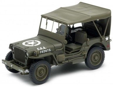 Welly - Model JEEP WILLYS 1941r 1:18 US ARMY
