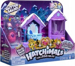 HATCHIMALS - Brokatowy Salon Zimowy + 2 FIGURKI