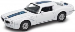 WELLY Model - 1972 PONTIAC FIREBIRD TRANS AM 1:34