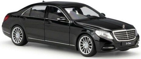WELLY - Model MERCEDES-BENZ S-CLASS Skala 1:24