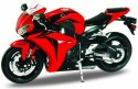 WELLY Model Motocykla HONDA CBR 1000RR Skala 1:10