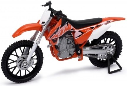 WELLY - Model Motocykla KTM 450 SX-F Skala 1:18