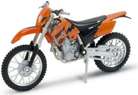 WELLY - Model Motocykla KTM 525 EXC Skala 1:18