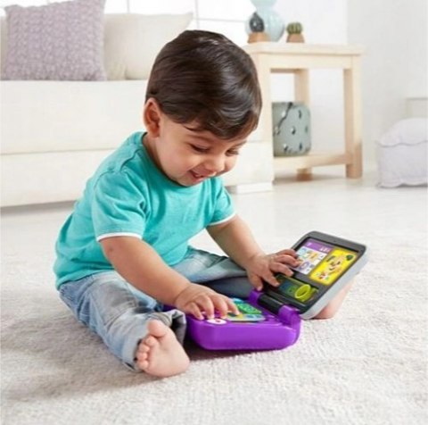 FISHER PRICE Laptop Malucha KLIKAJ I UCZ SIĘ FXK36