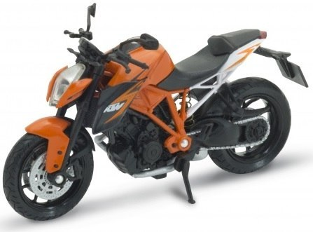 WELLY - Model KTM 1290 SUPER DUKE R Skala 1:18