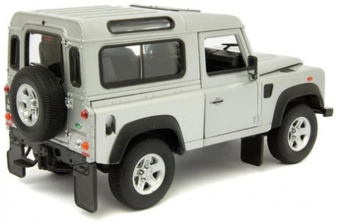 WELLY - Model Metalowy LAND ROVER DEFENDER 1:24